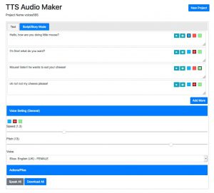 tts audio maker